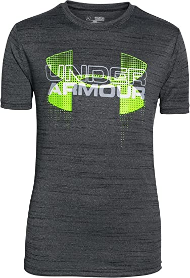 Boys Sizes Small,large And XL Under Armour Tech Big Logo Solid T-Shirt