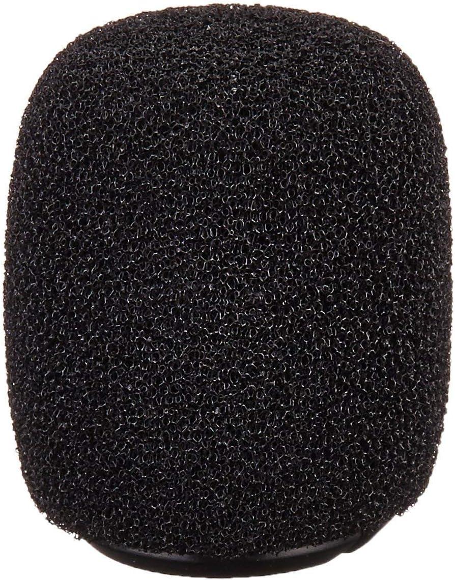 4 Shure RK183WS Black Snap-Fit Foam Windscreens for MX183 MX184 MX185 Beta 98 WL183 WL184 /& WL185