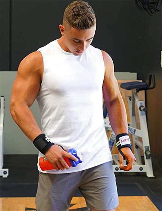 Ai.Moichien Men Muscle Sleeveless Shirt Cotton Tank Top Bodybuilding Sport Fitness Vest