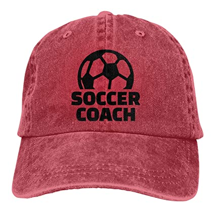 21a49005 Amazon.com: William A Magee5 Unisex, Soccer Coach Comfort Hat: Home ...