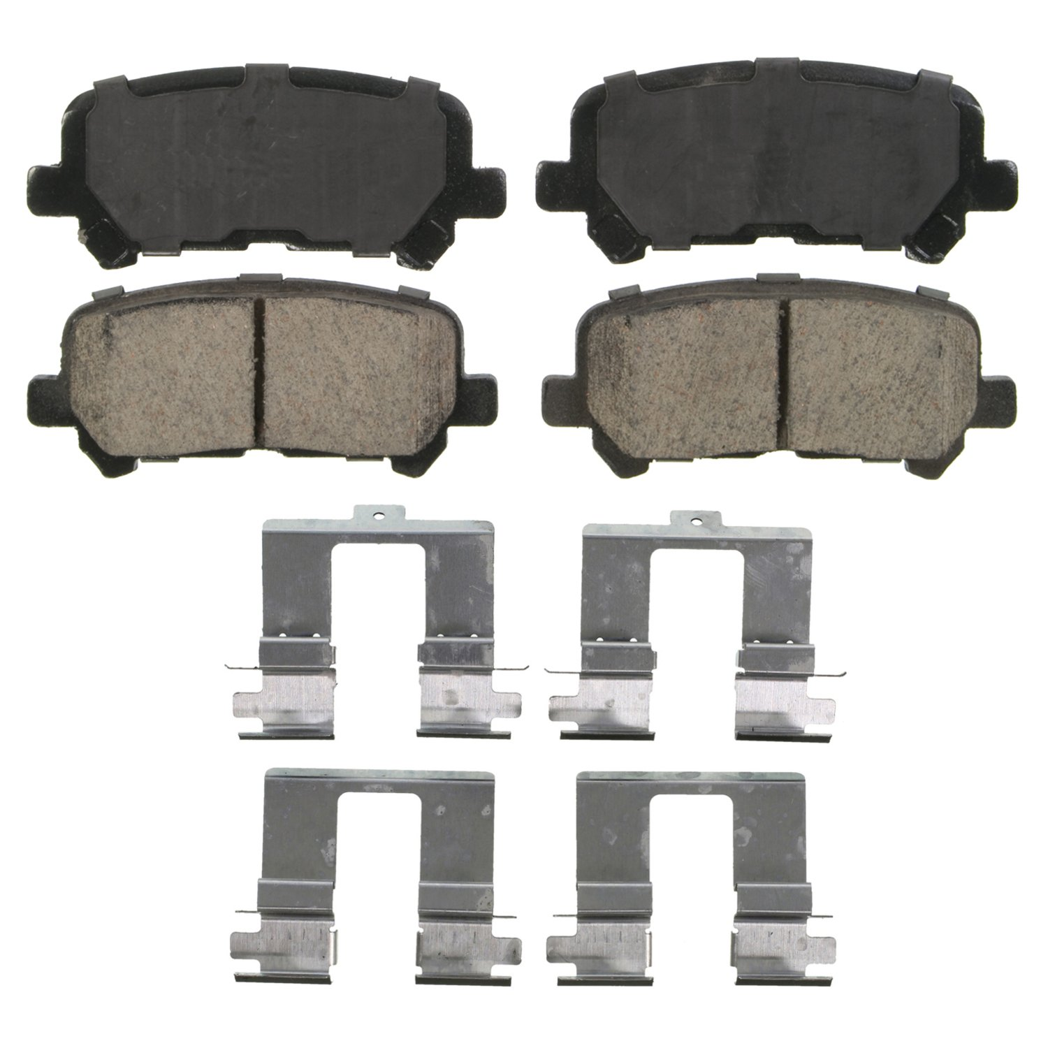 Wagner QuickStop ZD1281 Ceramic Disc Pad Set, Rear Wagner Brake