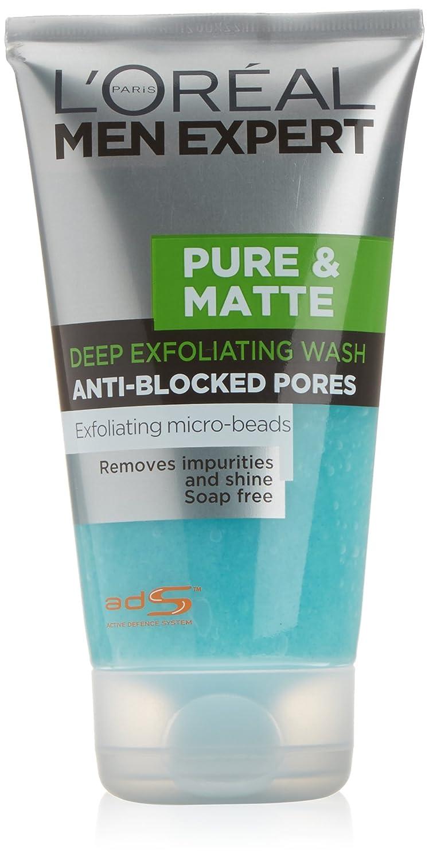 L'Oreal Men Expert Pure & Matte Face Scrub 150ml L'Oreal 3600521249543