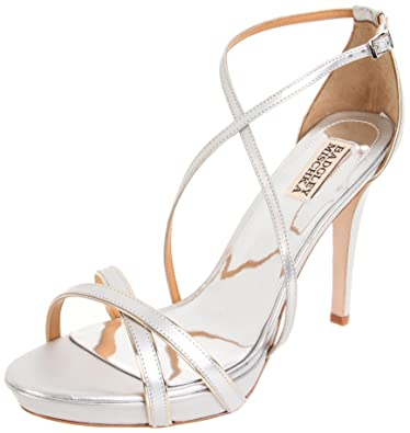 a3e3e7af5 Amazon.com  Badgley Mischka Women s Fierce Ankle-Strap Sandal ...
