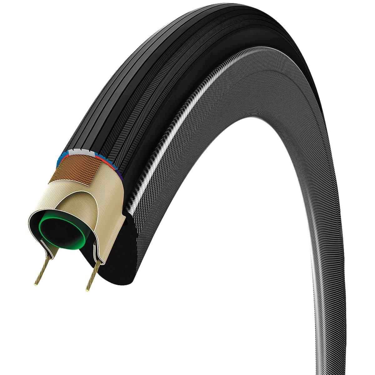 Vittoria Corsa Control G Plus Clincher Tire Black/Black, 700c x 28mm