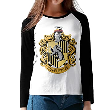dd081cde3 DDDaniel Women's Harry Potter Hufflepuff Baseball Raglan T-Shirts, T-Shirts  - Amazon Canada