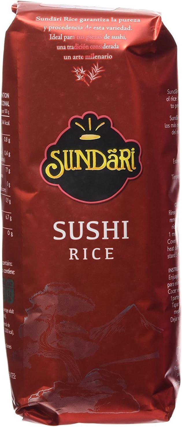 Sundari Arroz Sushi 500G - [Pack De 8] - Total 4 Kg