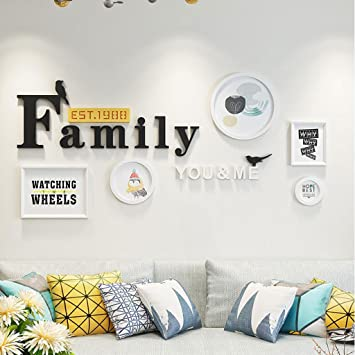 Amazon.com - Photo Frame Fashion Personality Photo Wall ...