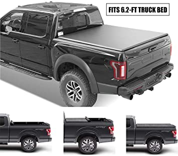 Amazon Com Gevog Soft Roll Up Truck Bed Tonneau Cover Assembly For 2015 2020 Chevrolet Colorado Gmc Canyon 6 2 74 Fleetside Bed Automotive