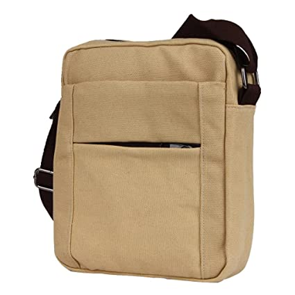 cheap price quality highly coveted range of Amazon.com : Gotd Canvas Shoulder Bag Messenger Bag ipad ...