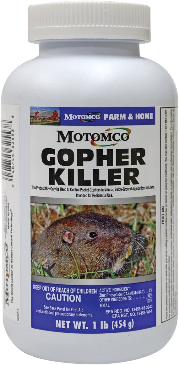 Yard Butler Gopher Bait Applicator Eliminate Garden Rodents Dispense Gopher M...