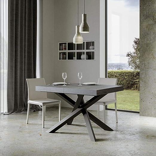 Itamoby, Mesa Extensible Volantis 160->420 cm, Tablero de Cemento ...