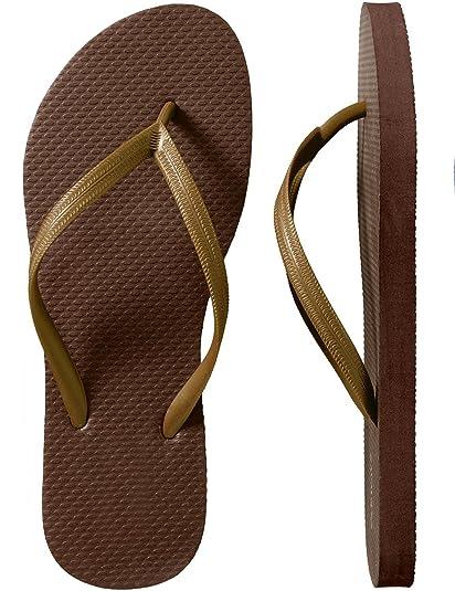 49958f0d5 SLR Brands Men s Flip Flops Rubber Thong Flip Flop Shower Sandal for Men  (Medium (