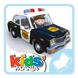 Peter und sein Polizeiauto - Kleiner Junge