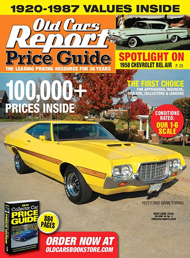 Old Cars Price Guide [Print + Kindle]: Amazon.com: Magazines