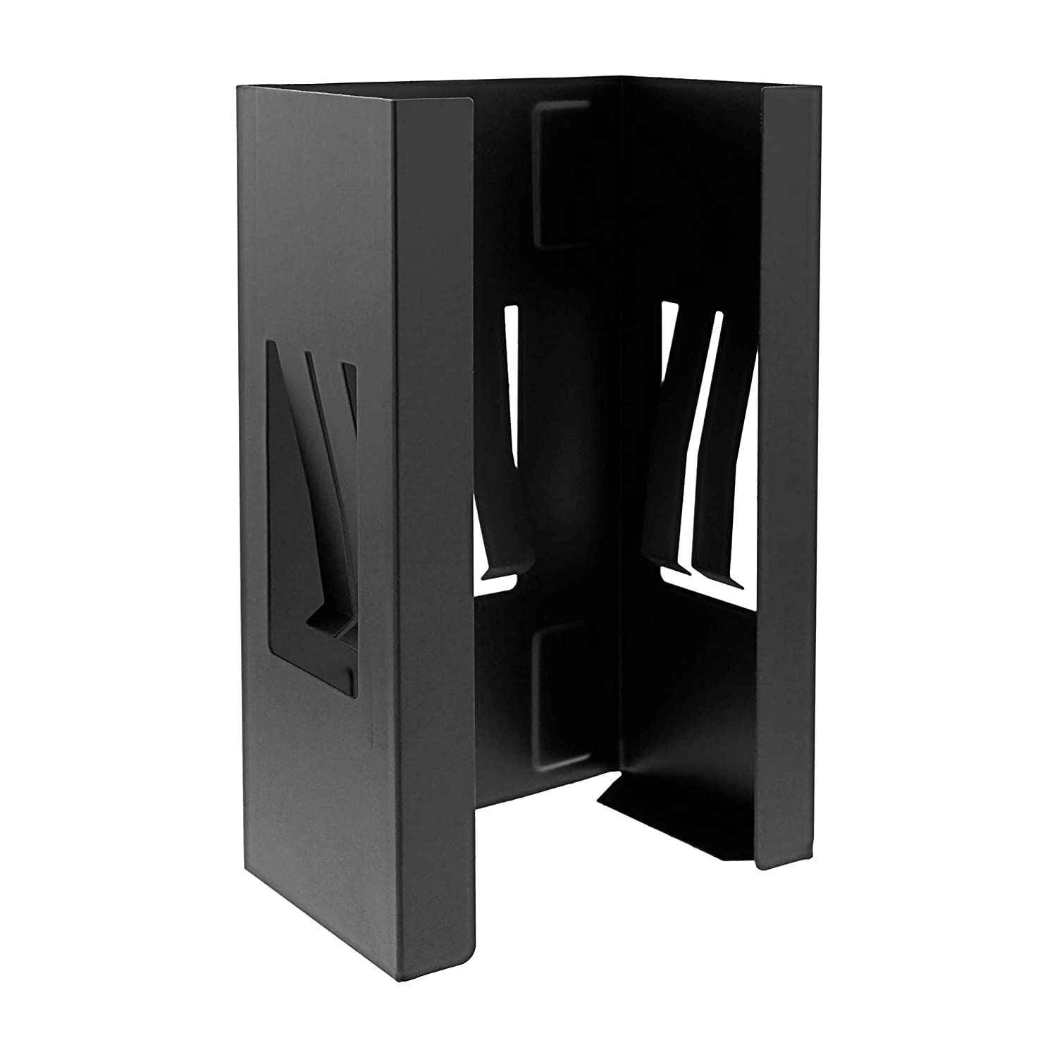 TCP Global Magnetic Glove and Tissue Dispenser Holder - Holds Boxes of Gloves, Towels, Wipes, Tissues - Mount onto a Tool Box or in Garages, Workshops and Kitchens