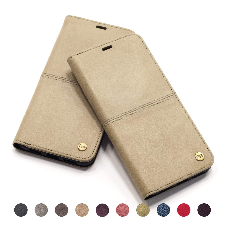 082e5c9fb Funda Galaxy S9 Plus I RFID NFC protección I incl Protector de Pantalla H9  QIOTTI I Carcasa Plegable Cartera ...