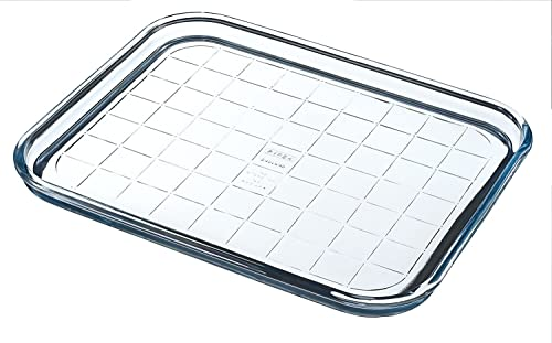 Pyrex Bake & Enjoy Glass Multipurpose cooking sheet high resistance 32x26x2 cm