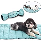 "AmeriLuck Travel Pets Mat, Easy Carry Portable Bed Cover, 30""x22"" Medium Size, Water-Resistant, Puppy Dog Cat Blankets…"
