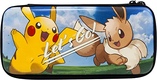 Hori - Funda Rígida Pokémon Lets Go (Nintendo Switch): Amazon.es ...