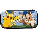 "HORI Custodia Rigida Switch ""Let's Go Pikachu/Eevee"" - Ufficiale Nintendo e Pokémon - - Nintendo Switch"