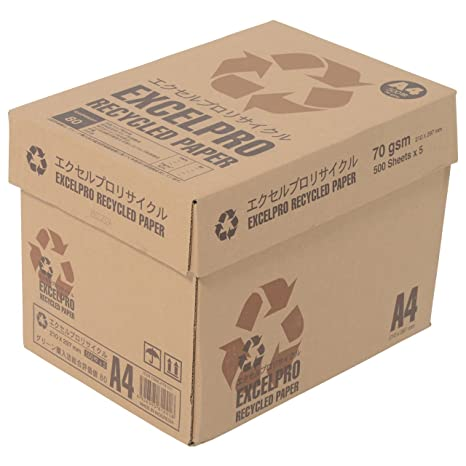 Amazon.com: Papel Reciclado Papel de copia, A4, 500 hojas ...