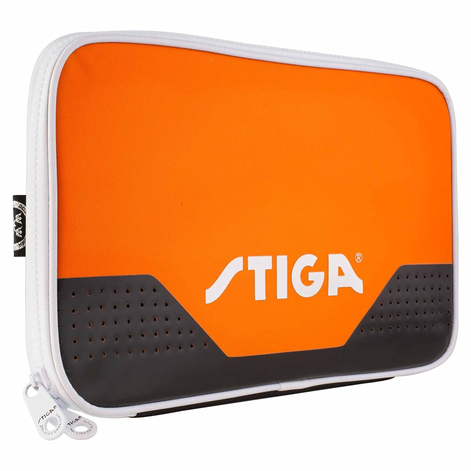 Stiga Single Wallet Stage For Table Tennis Bat Orange - Ping Pong Bat Cover