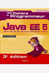 Java EE 5: EJB 3.0 - JPA- JSP - JSF - Web services - JMS - GlassFish 3 - Maven 3. (Les cahiers du programmeur) (French Edition) Paperback