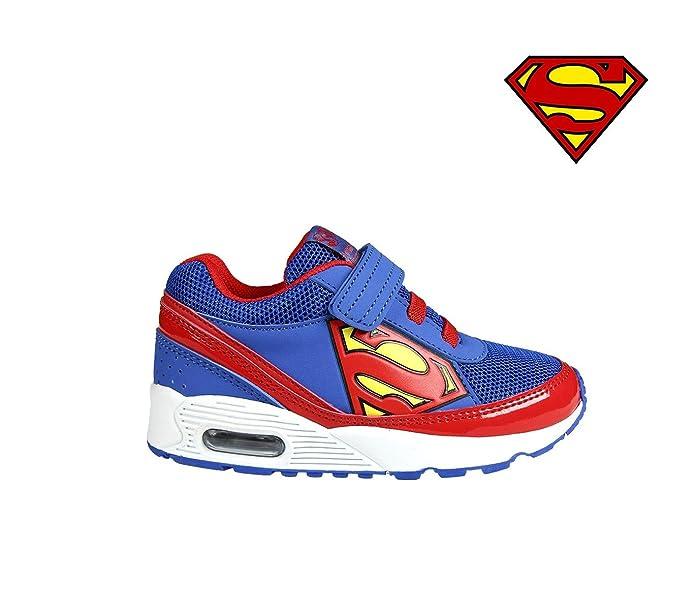 001e4a9983b59 MEDIA WAVE store Scarpe da Ginnastica per Bambino Superman 2300002601  Chiusura a Strappo (31)  Amazon.it  Scarpe e borse