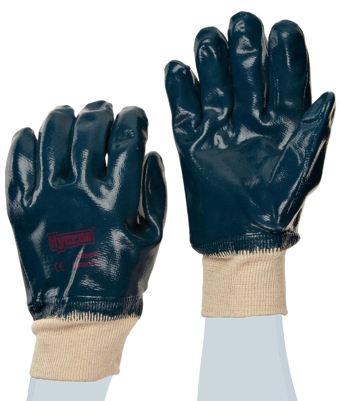 Ansell Hycron 27-602 Gants olé ofuges, protection mé canique, Bleu, Taille 8 (Sachet de 12 paires) protection mécanique Ansell Hycron 27-602 / 8
