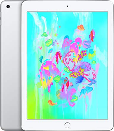 Apple iPad (Wi-Fi, 128GB) - Silver (Previous Model)