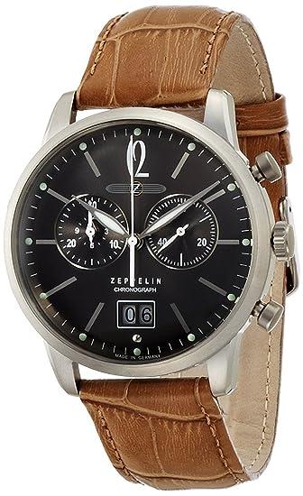 Zeppelin Reloj ejército alemán LSERIES gris Dial Cronógrafo Fecha 73,861 hombre [Regular importados]