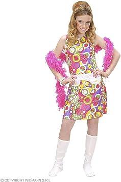 WIDMANN Desconocido Disfraz hippie para niña: Amazon.es: Juguetes ...