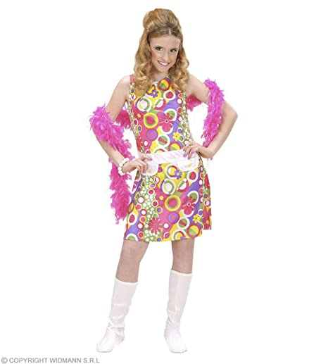 d2f48f968c3bf WIDMANN Desconocido Disfraz hippie para niña  Amazon.es  Juguetes y ...