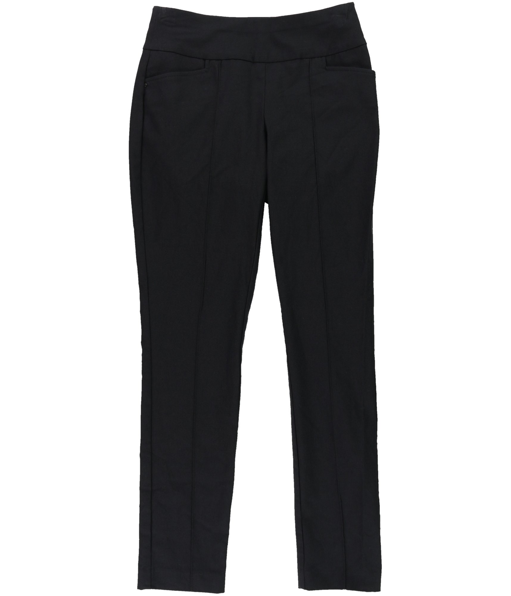 Style & Co. Womens Comfort Waist Casual Trousers Black PS/27 - Petite
