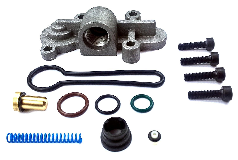 TamerX Diesel Fuel Pressure Regulator Blue Spring Kit Upgrade for 2003-2007 Ford Powerstroke 6.0L