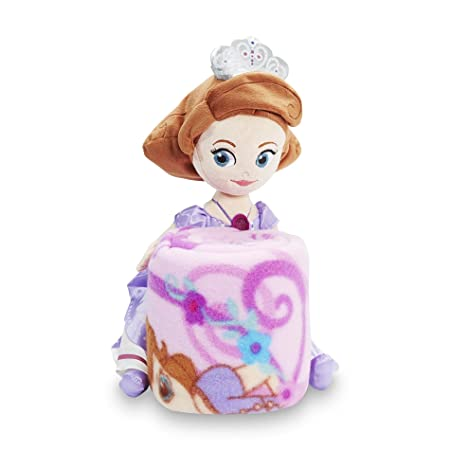 Disney Princess Sofia The First Throw Blanket Pillow Set Amazon Extraordinary Sofia The First Throw Blanket