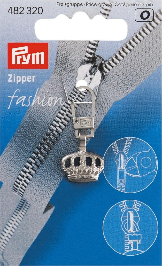 Prym Fashion-Zipper Reißverschluß Zipper Loop brüniert 482136
