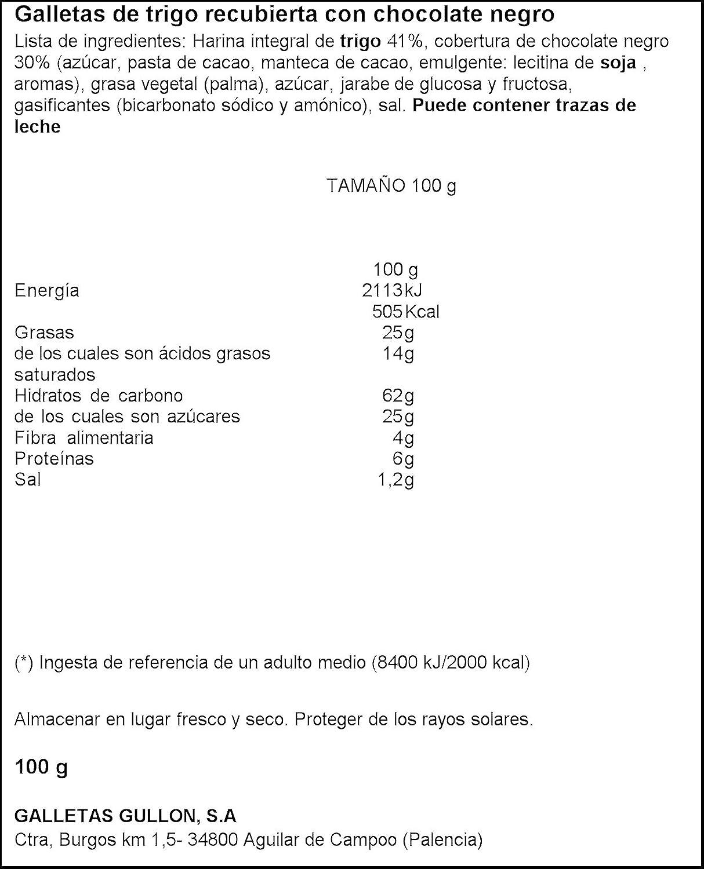 Galletas mini digestive gullón paquete 100g: Amazon.es: Alimentación y bebidas