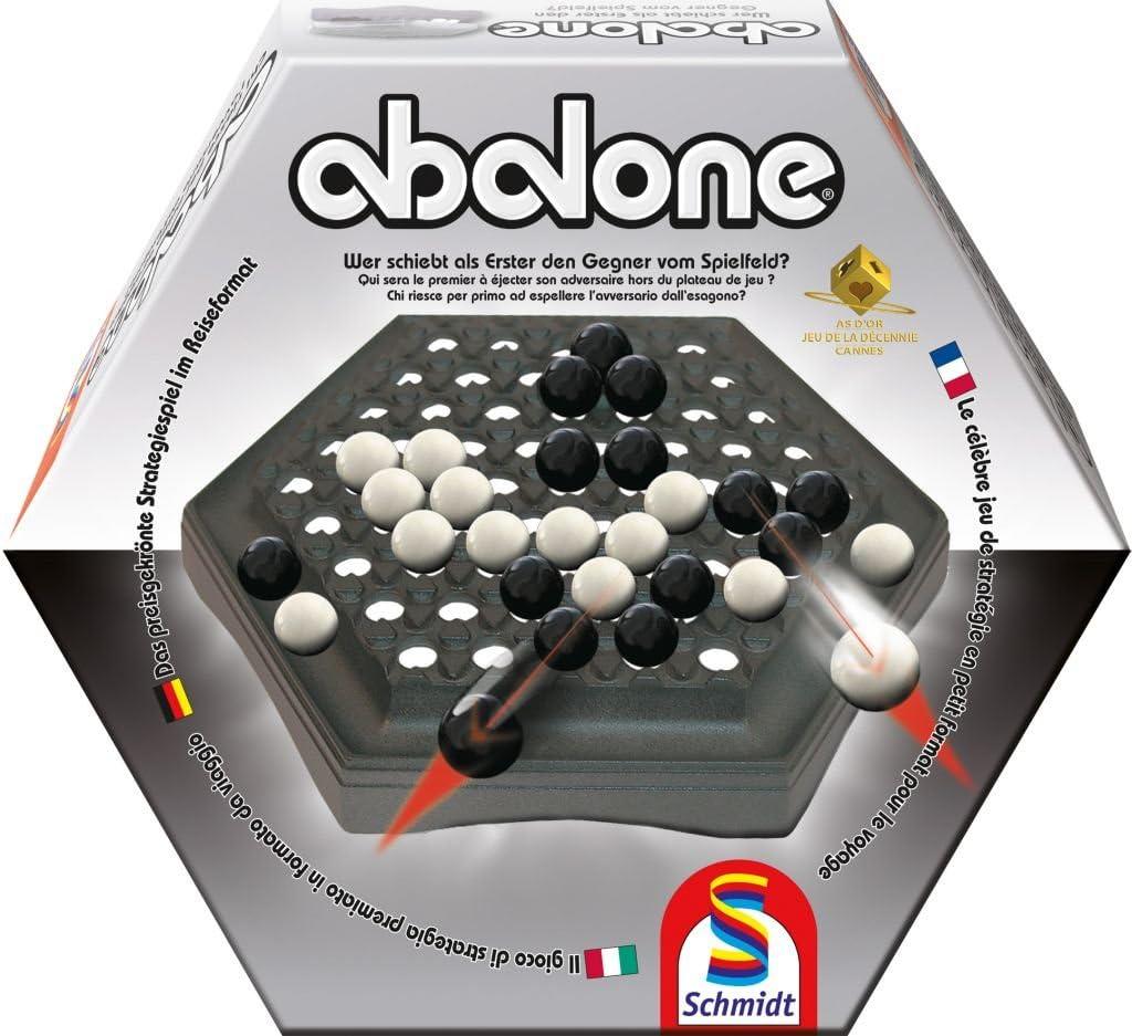 Schmidt Spiele 49098 - Viajes Abalone, Juego de Estrategia ...