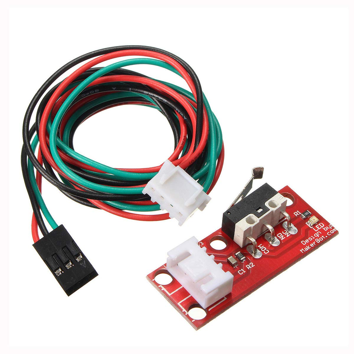 TM 5 x Mechanical Endstop End Stop w//Wires Limit Switches with 22WAG Cable for 3D Printer Makerbot Prusa Mendel RepRap CNC Arduino RAMPS 1.4 CHENBO