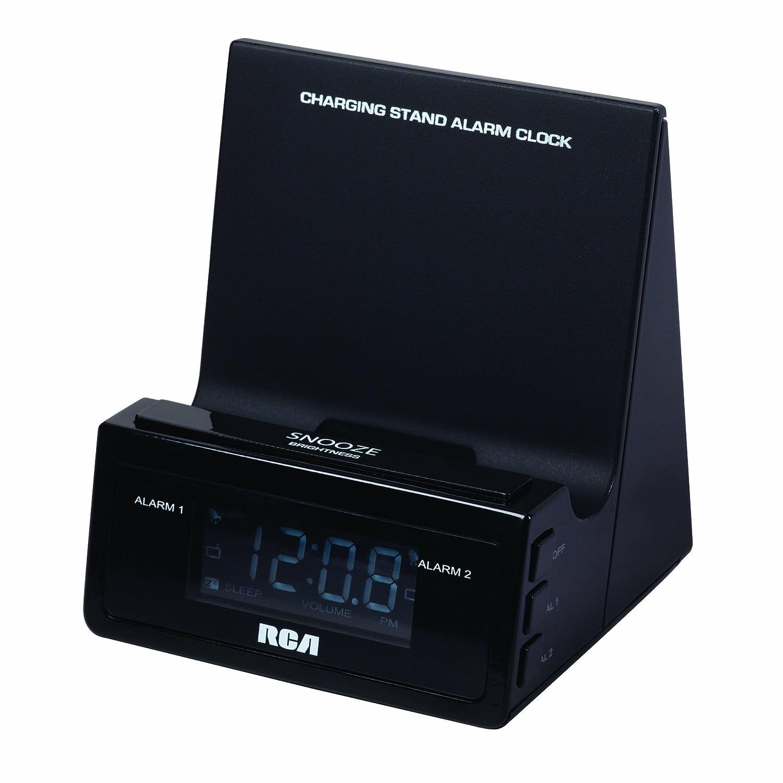 RCA RCD215 Charging Stand Alarm Clock Audiovox CA