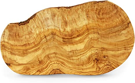 Square Olive Wood Cheese Serving Chopping Board