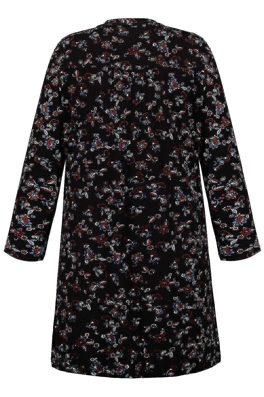 Ulla Popken Womens Plus Size Matte Jersey Open Cardigan 711439