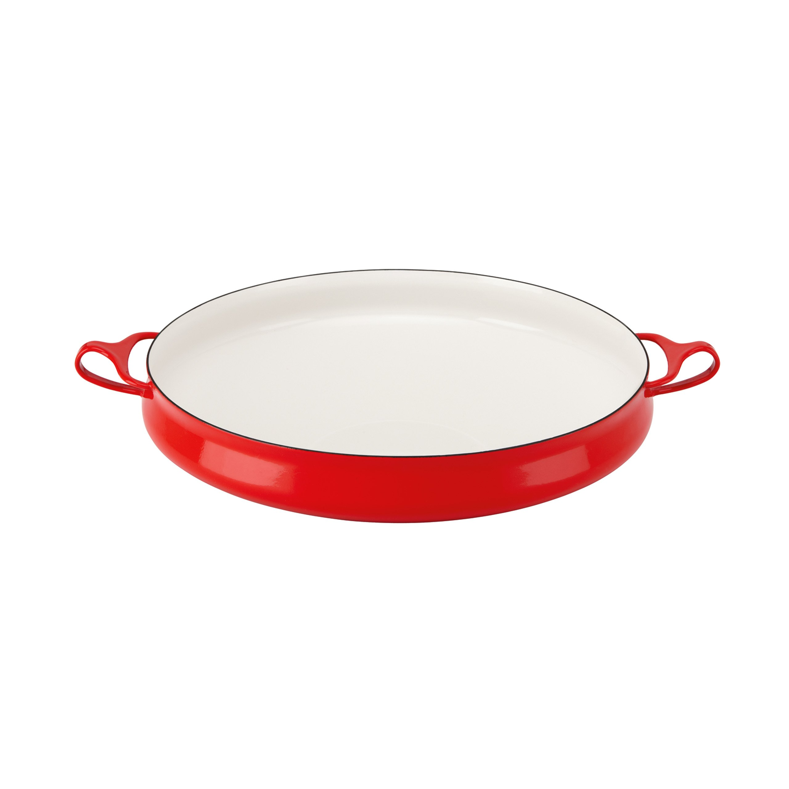 Dansk Kobenstyle Chili Red Buffet Server by Dansk