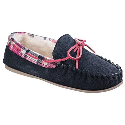 19a1c359f1e Cotswold KILKENNY Ladies Suede Moccasin Slippers Tan  Amazon.co.uk  Shoes    Bags