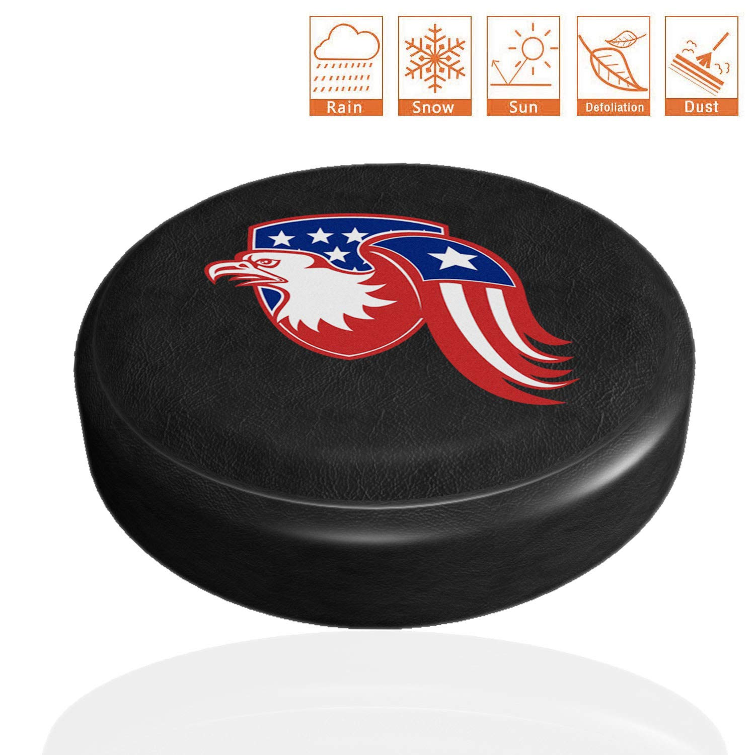 National Flag Wheel Diameter 30-31 Weatherproof Tire Protectors Trailer Truck and Many Vehicle SUV AmFor Spare Tire Cover RV Universal Fit for Jeep