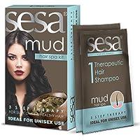 SESA Mud Hair Spa Kit 3 Step Therapy (1 Kit)
