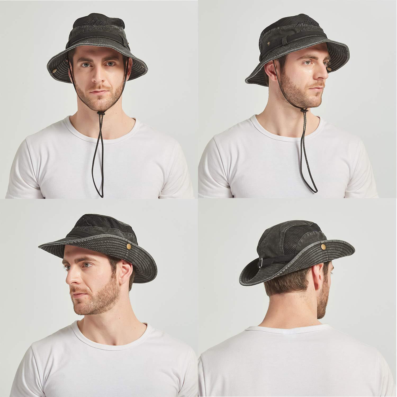KeepSa Para Mujer Para Hombre Sombrero Para el Sol de Algodón de ...