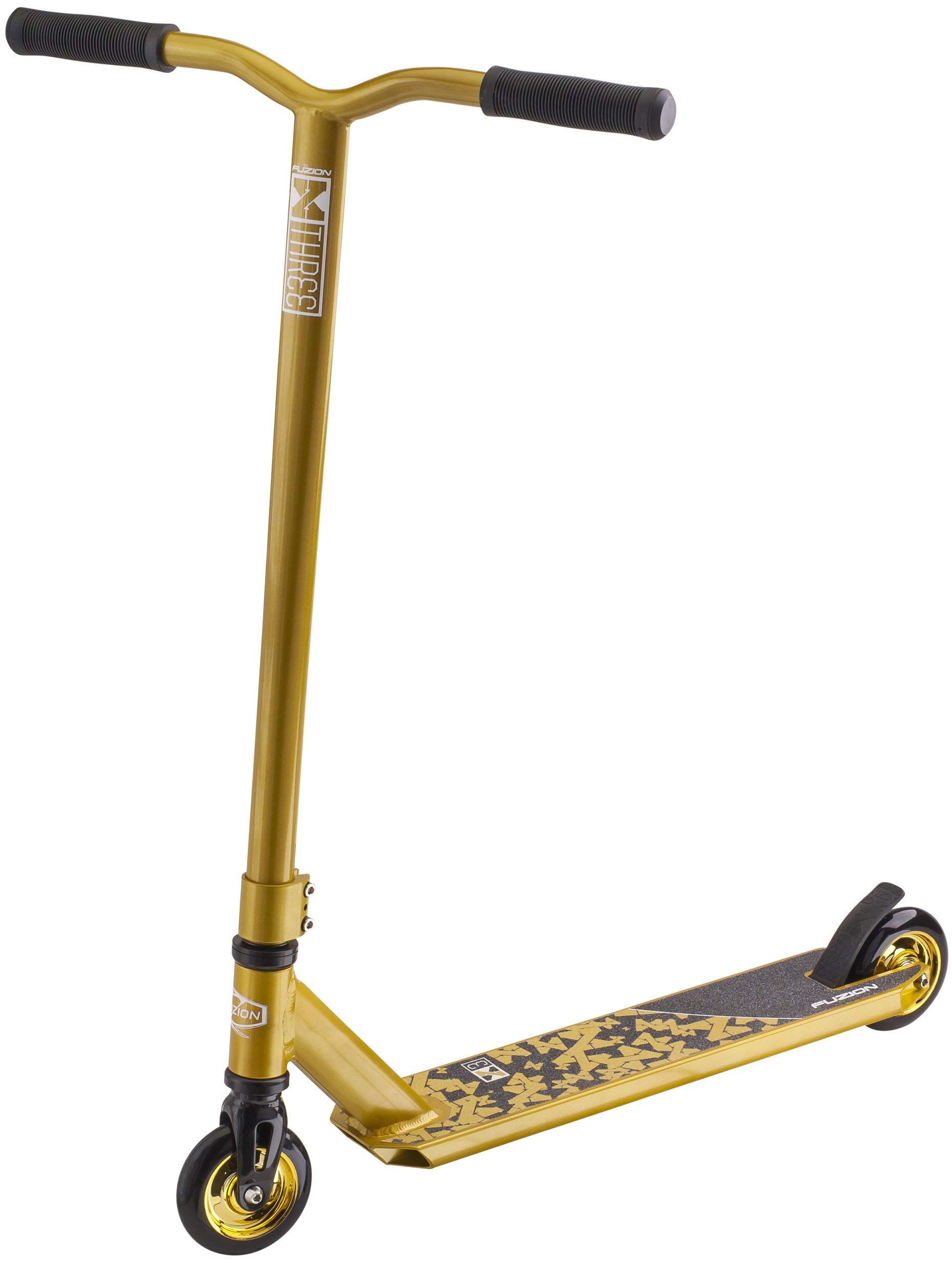 Fuzion X-3 Pro Scooter (2018 Gold) (Renewed) by Fuzion