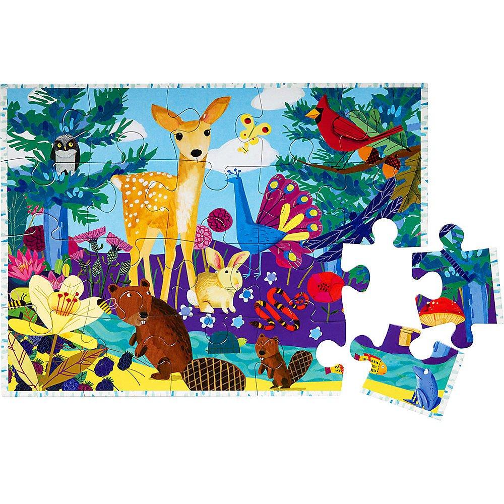 eeBoo–20Pieces Jigsaw Puzzle–Life on Earth PZLOE2